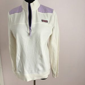Tops - Vineyard Vines Purple and White Shep Shirt
